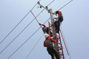 Pengupasan A3CS bertegangan 20 kV